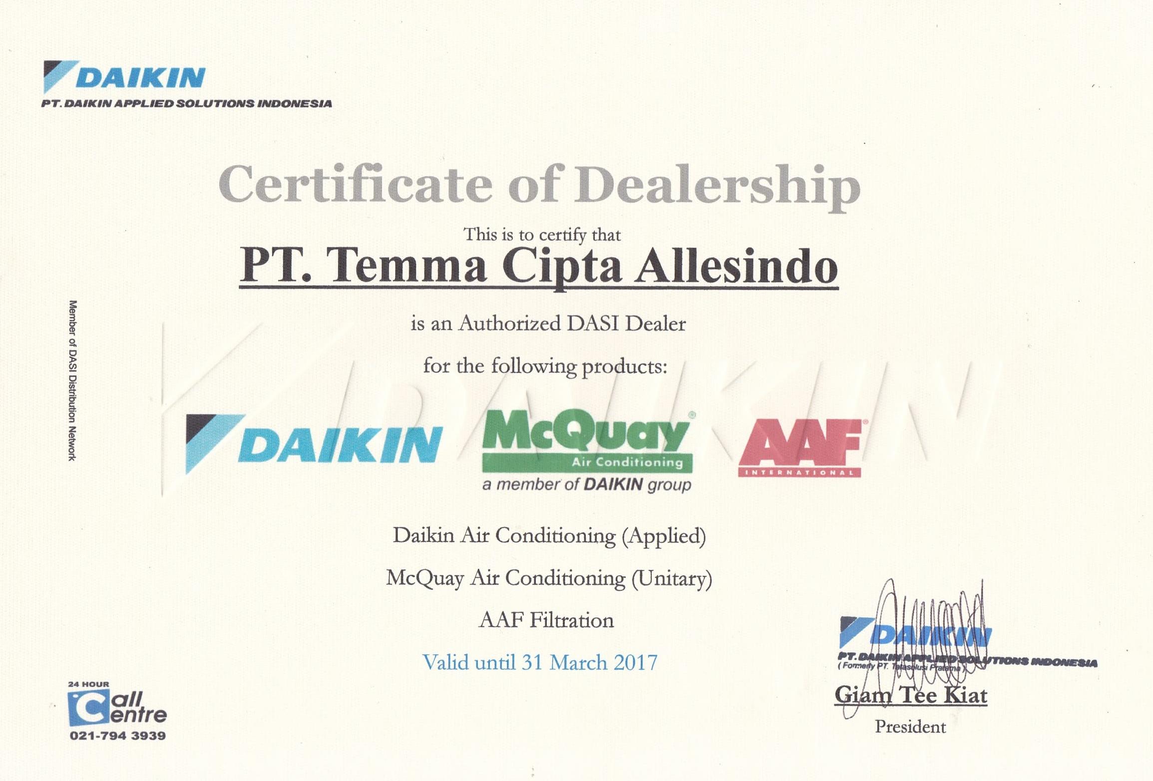 sertifikat-dealership-pt-temma
